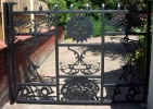 Decorative gate (heavy 20mm thick infill) - click to enlarge